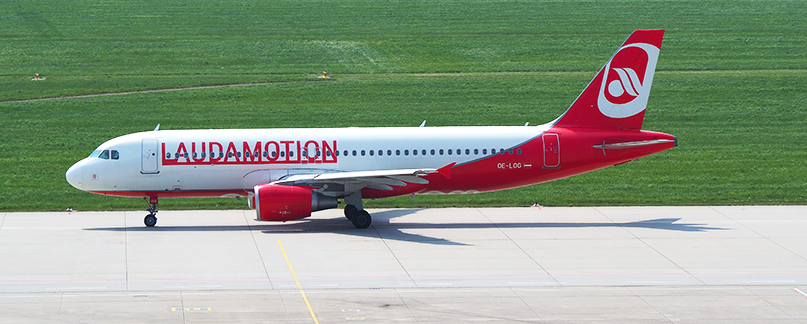 LaudaMotion Flugverspätung und Flugausfall