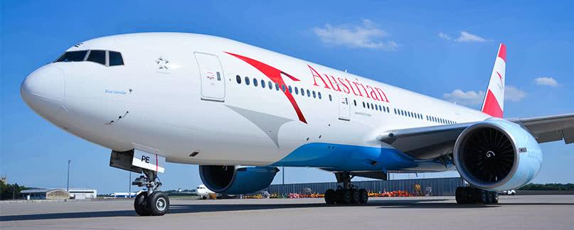 Austrian Airlines Flugverspätung und Flugausfall