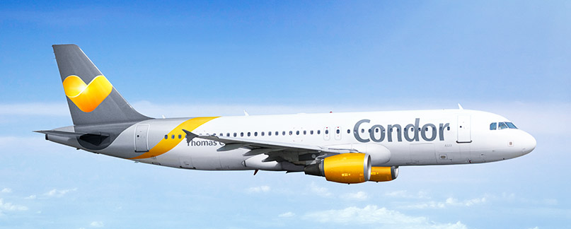 Condor Flugverspätung und Flugausfall