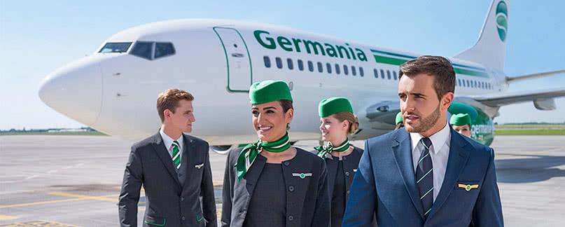 Germania Flugverspätung und Flugausfall
