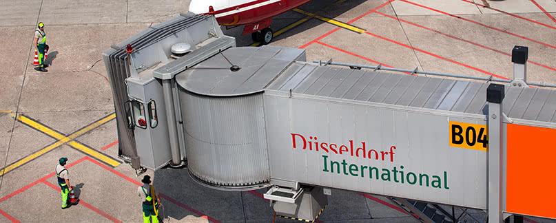 Flughafen Düsseldorf Flugverspätung und Flugausfall