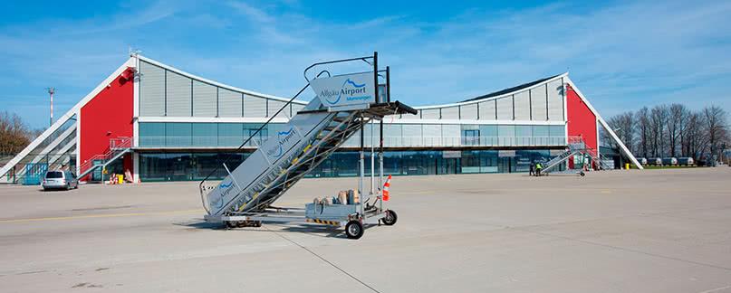 Flughafen Memmingen Flugverspätung und Flugausfall