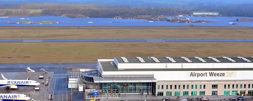 Flughafen Weeze/Niederrhein Flugverspätung und Flugausfall