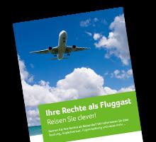 Informationsbroschüre zu Rechten bei Flugreisen
