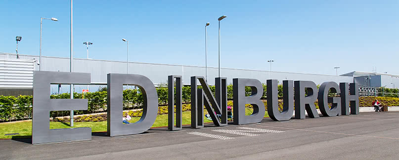 Cancellations and flight delays at Edinburgh Airport