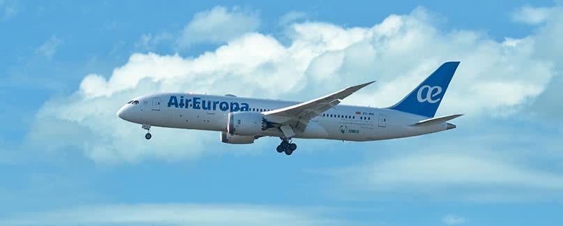Vuelo con retraso o cancelado de Air Europa