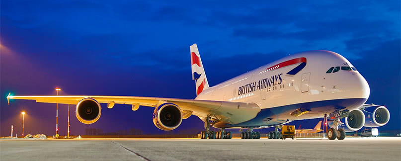 Vuelo con retraso o cancelado de british airways