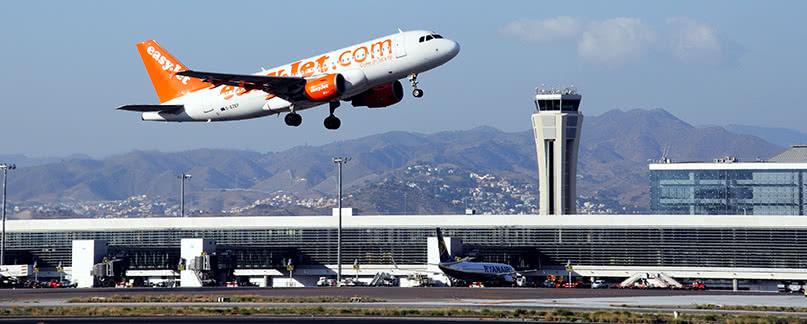Vuelo con retraso o cancelado en Málaga