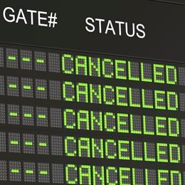 Sus derechos y indemnización en caso de vuelo cancelado
