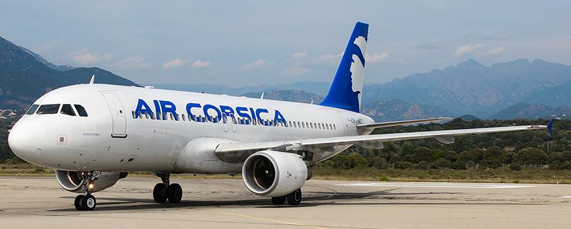 Air Corsica vol annulé, vol retardé ou surbooking